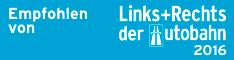 Links+Rechts der Autobahn Logo